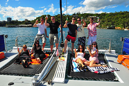 Sydney Boat Adventures - Trampolines