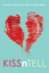 KissnTell Book Cover KISSnTELL Book Review Los Angeles High School YA Fiction TV Show Venice Beach Hollywood California