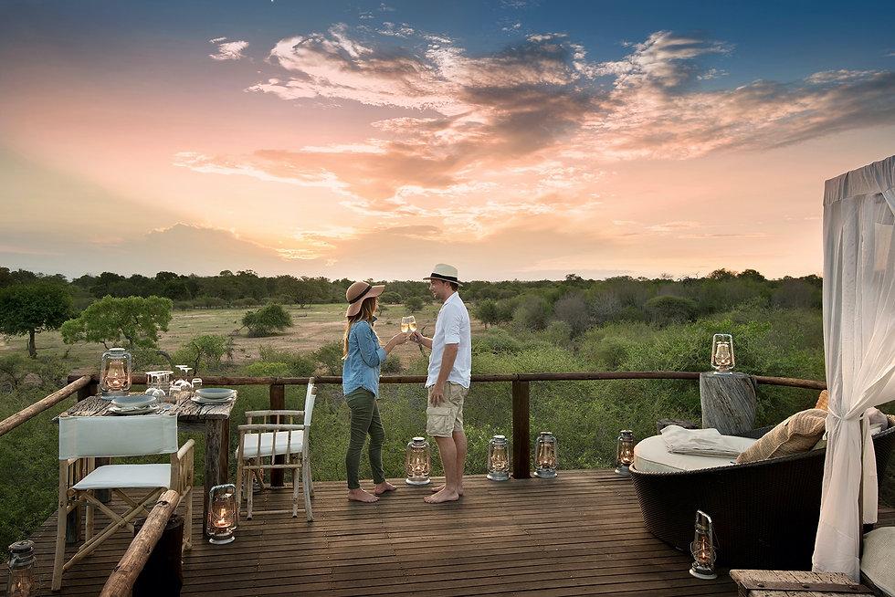 Safari de luna de miel en África