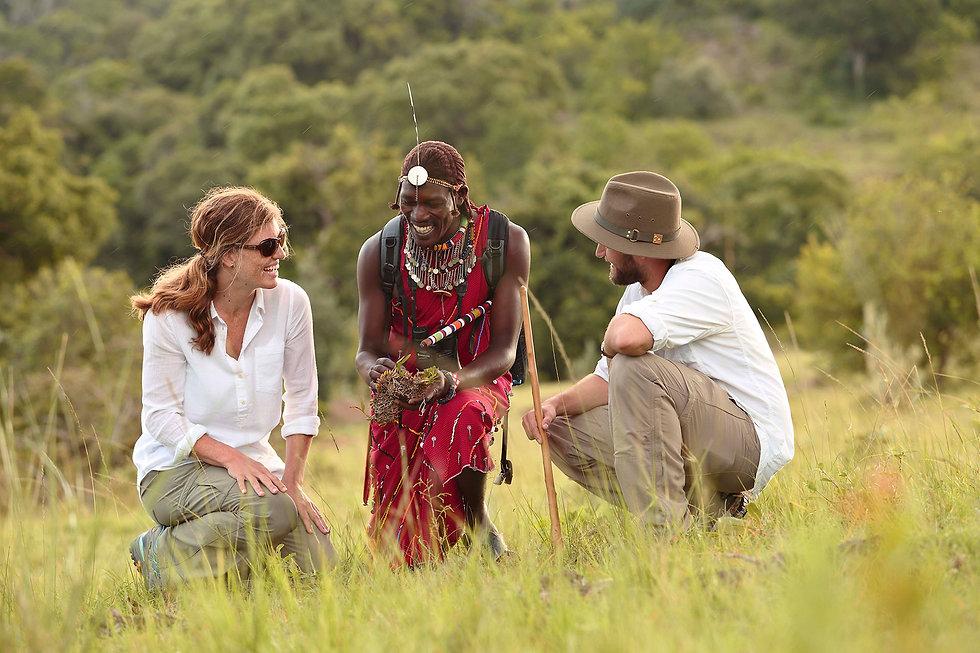 Masai en Kenya