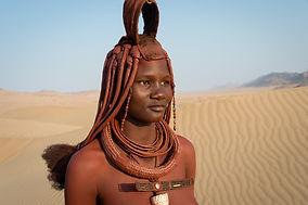 Himba en Serra Cafema Cam