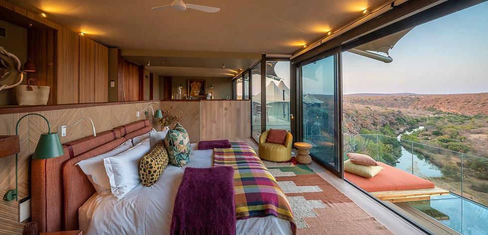 Safari de lujo, en Noka Camp, Sudáfrica
