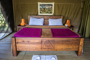Serengeti camps, Tanzania
