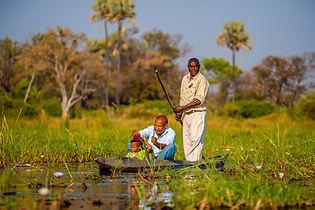 Oddballs Camp, Mokoro, Botswana