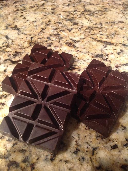 Dark Chocolate Break Up Bar,  6 oz. 62.5% Cocoa