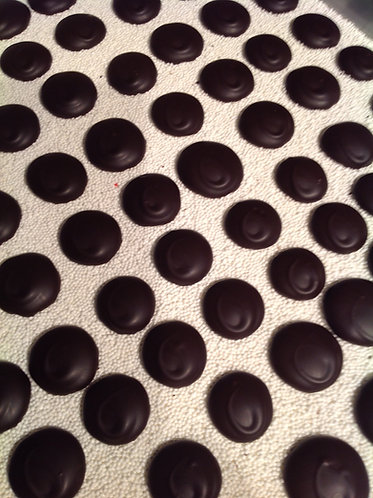Dark Chocolate Nonpareils - 6 oz. Tub
