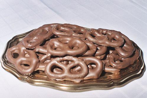 Milk Chocolate Pretzels - One Dozen