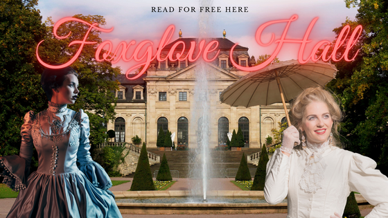 Third Instalment of Regency Romance Foxglove Hall Released