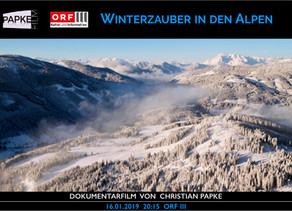 Winterzauber in den Alpen