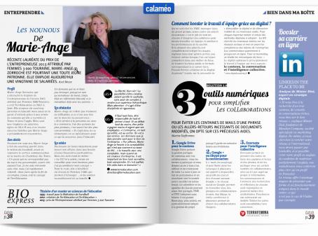 Article Edith Magazine : Les nounous de TerrEducation