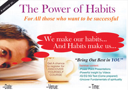 Power Of Habits blannk