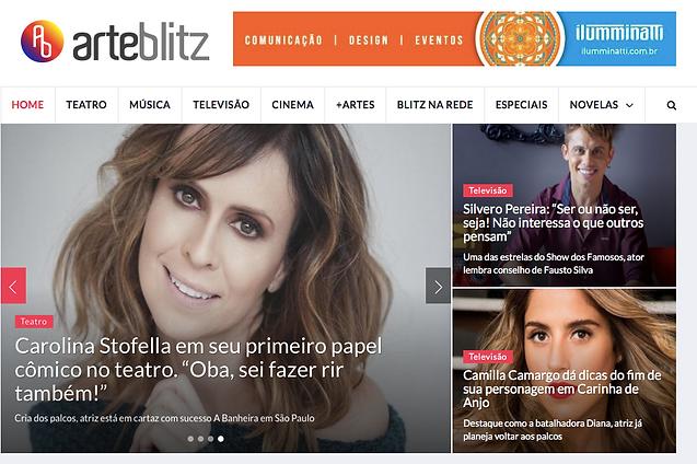 Entrevista Portal Arte Blitz