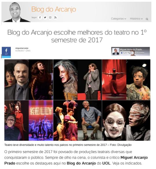 Os melhores de 2017 por Miguel Arcanjo