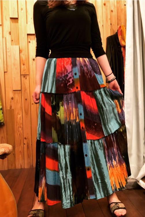 3way Long Skirt