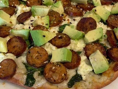 Gluten Free: California Avocado Pizza