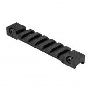 """3/8"""" DOVETAIL TO PICATINNY RAIL ADAPTER MOUNT/BLACK/SHORT"""
