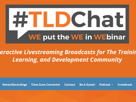 Guest Hosting the web cast TLD chat!