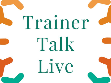 Jo speaking at the Trainer-Talk Live Event - March 1st
