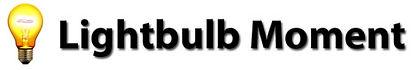 Lightbulb Moment Logo
