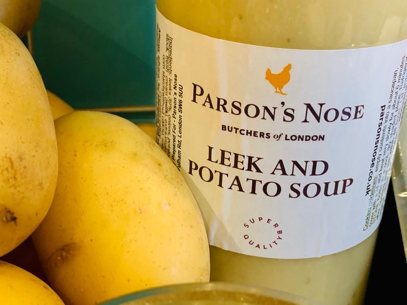 Parson's Nose Leek and Potato Soup