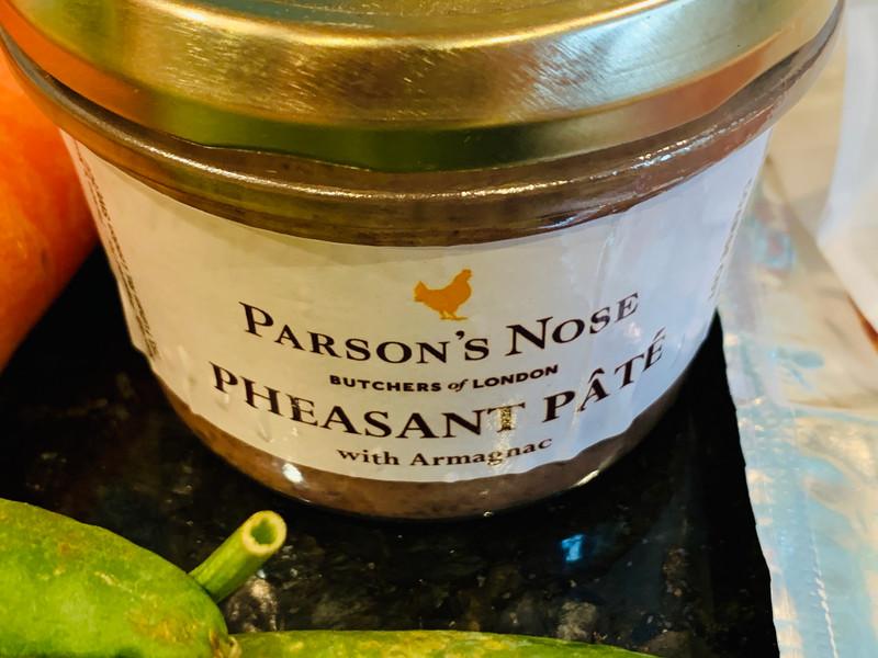 Parson's Nose Pheasant Pate