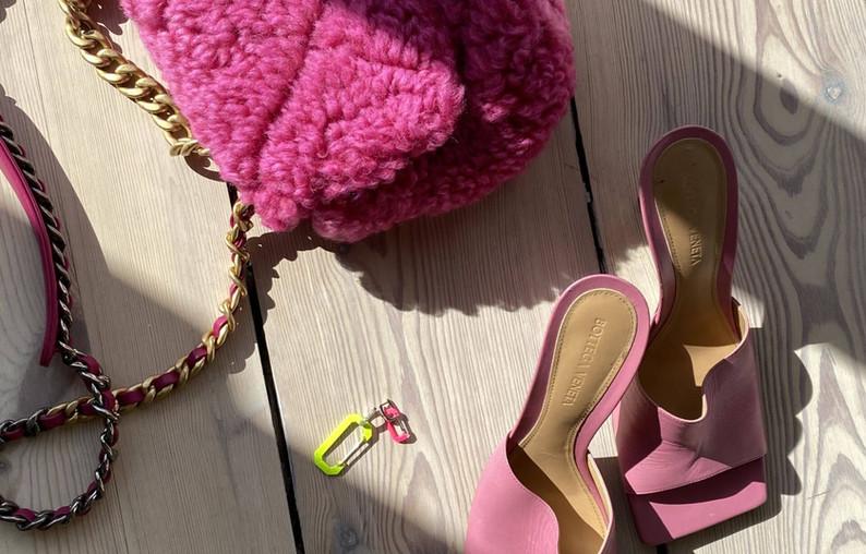 outfit details _ Chanel x Bottega Veneta