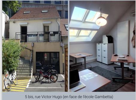 Ouverture d'un nouveau tiers-lieu / espace de travail mutualisé en centre-ville de Sèvres...