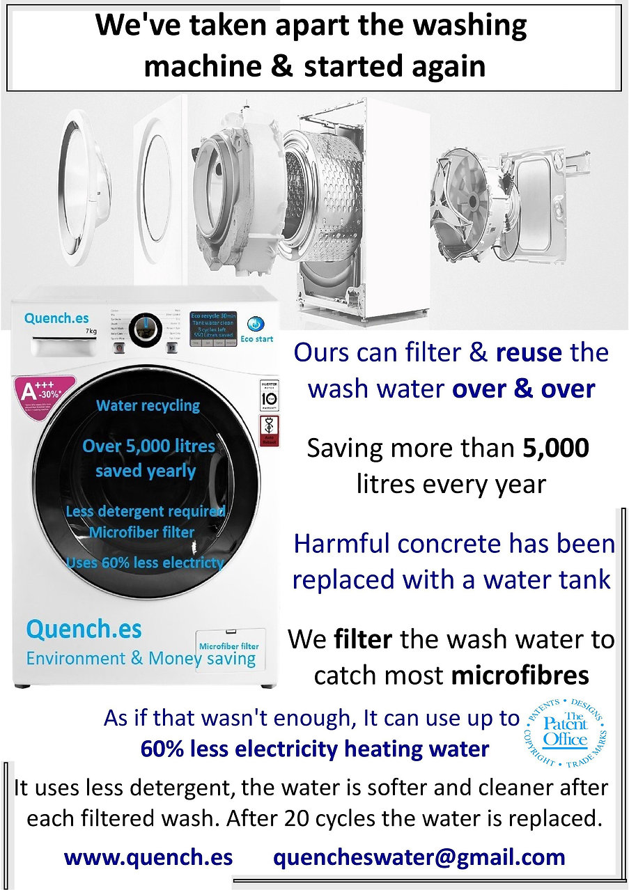 Water saving Hybrid Washing machine-page