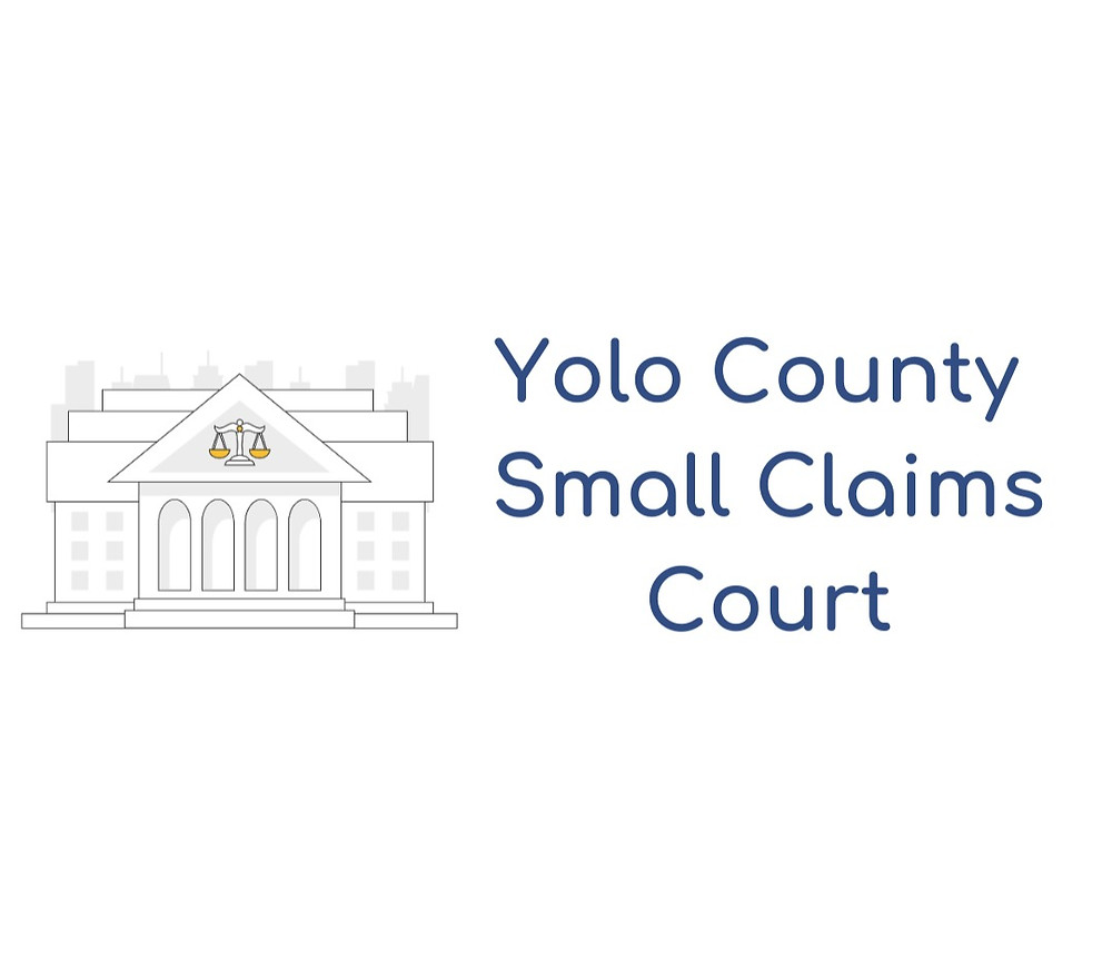 How to file a small claims lawsuit in Yolo County Small Claims Court
