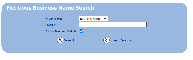 How to find a fictitious business name in San Mateo County