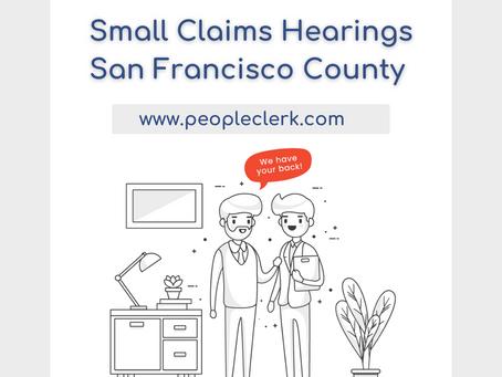 The Small Claims Hearing- San Francisco