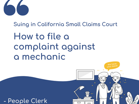 How to file a complaint against a mechanic