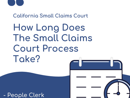 How Long Does The Small Claims Court Process Take?