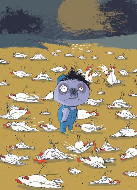 Der kleine Herr Tod: Die harte Arbeit mit den Hühnern