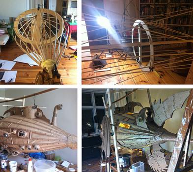 Die Nautilus wird gebaut