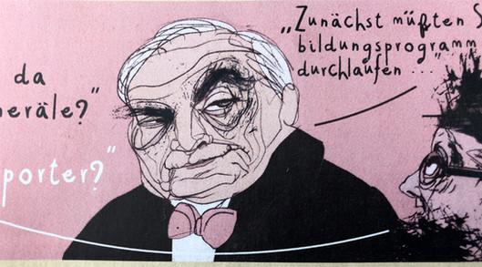 """Strauß-Kahn in """"Die Wüstensöhne"""""""