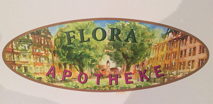 Entwurf für die Flora Apotheke in Leipzig