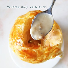Truffle Cream Soup in Puff Pastry (20 mins)