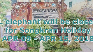 Closed for Songkran Holiday