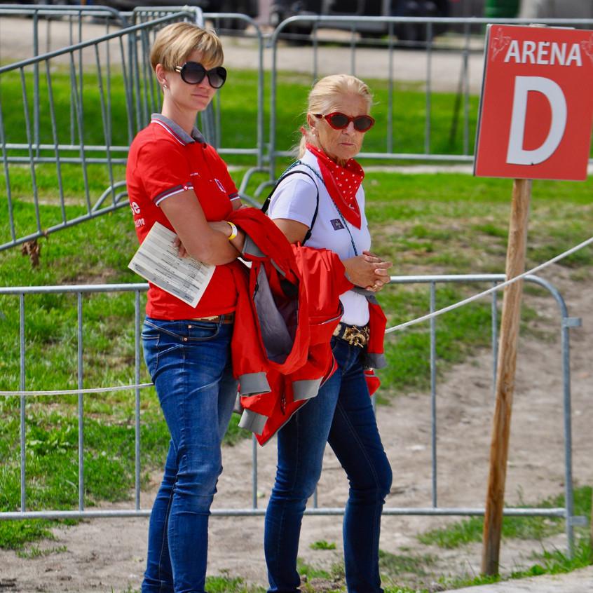 Heidi Bemelmanns und Stephanie Weber