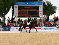 WM Junger Pferde, Verden 2011