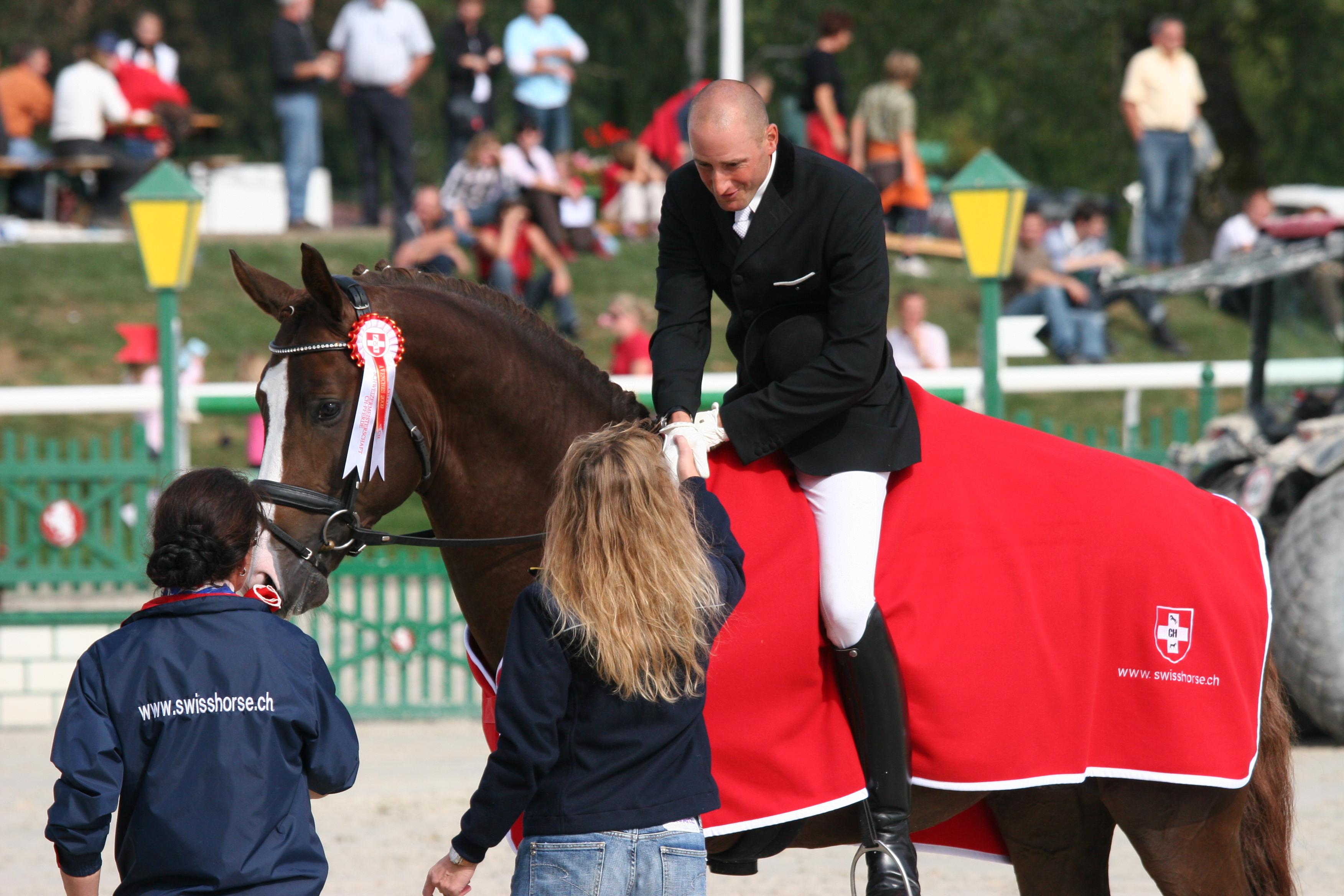 Schweizermeister 4-jährige Pferde