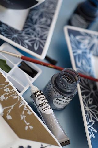 Malovani Na Sklo Porcelan A Keramiku Vytvarka Cz Navody A Postupy