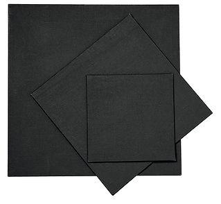 Karton potažený černým plátnem