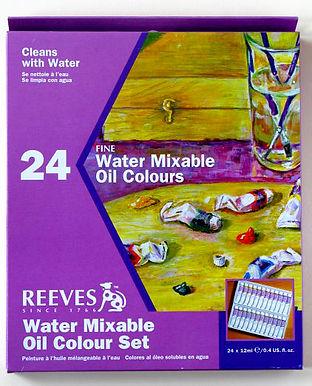 Olejové barvy ředitelné vodou