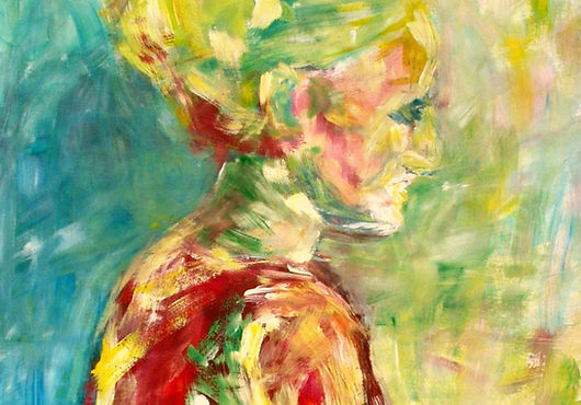 Portrét (akryl)