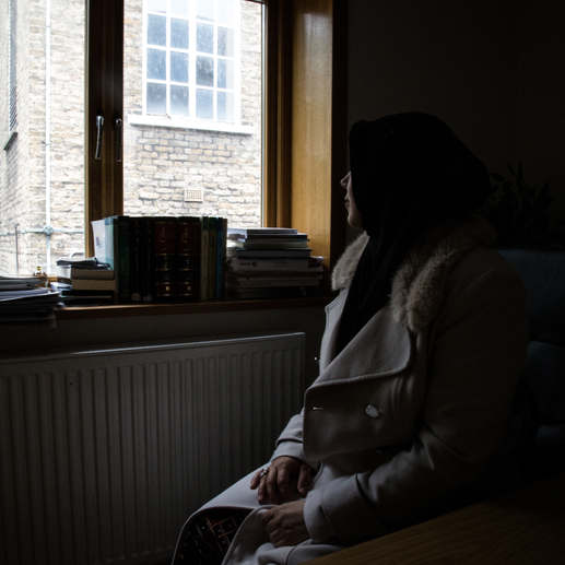 """""""One night I dreamt of having a huge, white lion at my side. He was protecting me from black wolves. I converted one year later."""" Hala (not her name) is a Portuguese Muslim Shia convert. She works as a cleaner in London. But she is studying to become a cleric."""