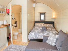 The Shire Pod at Sunrise Pods - Interior