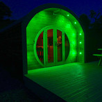 The Shire Pod at Night
