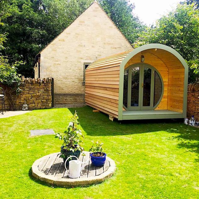 The Mini Pod makes your garden come alive!